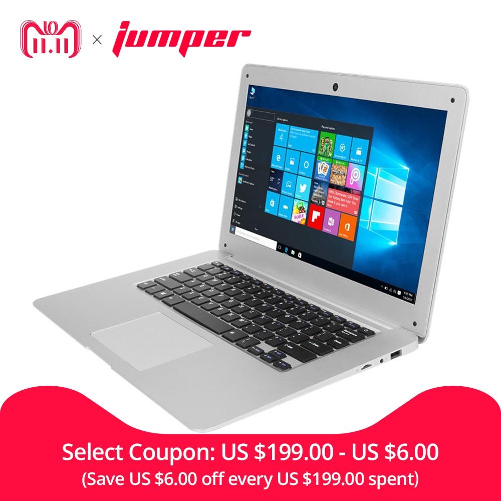 14.1'' Win10 Laptop notebook computer 1080P FHD Intel Cherry Trail Z8350 4GB 64GB ultrabook Jumper EZbook 2 notebook computador