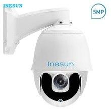 Inesun Super HD 5MP PTZ IP Security Camera Outdoor Pan/Tilt 30X Optical Zoom Laser IR Nigh Vision up to 200m P2P/Motion Alert 1200tvl color vari focal box security camera 30x optical zoom dsp