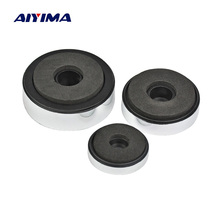 AIYIMA 12 قطعة الفضة مكبر للصوت وسادة القدم امتصاص الصدمات التخميد أغلال ل مكبرات الصوت مكبر للصوت آلة قدم الهيكل صدمة