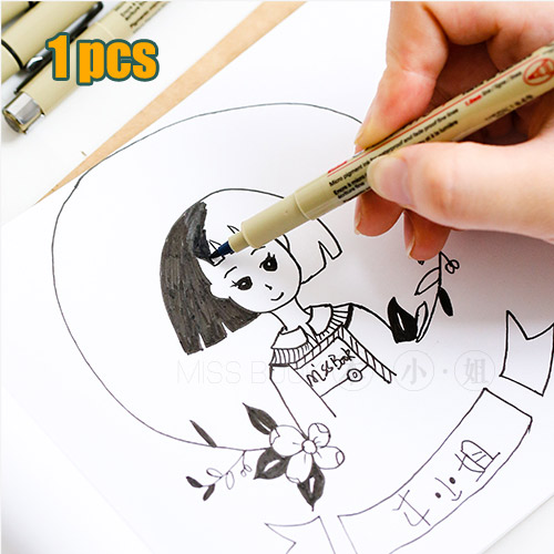 high quality Perfect Line Pen Needle disposable cartoons sketch pen drawing pen hook line pens 0.2/0.3/0.4/0.5/0.25/0.35/0.45/1 top quality 100pcs box zhongyan taihe acupuncture needle disposable needle press needle ear needle