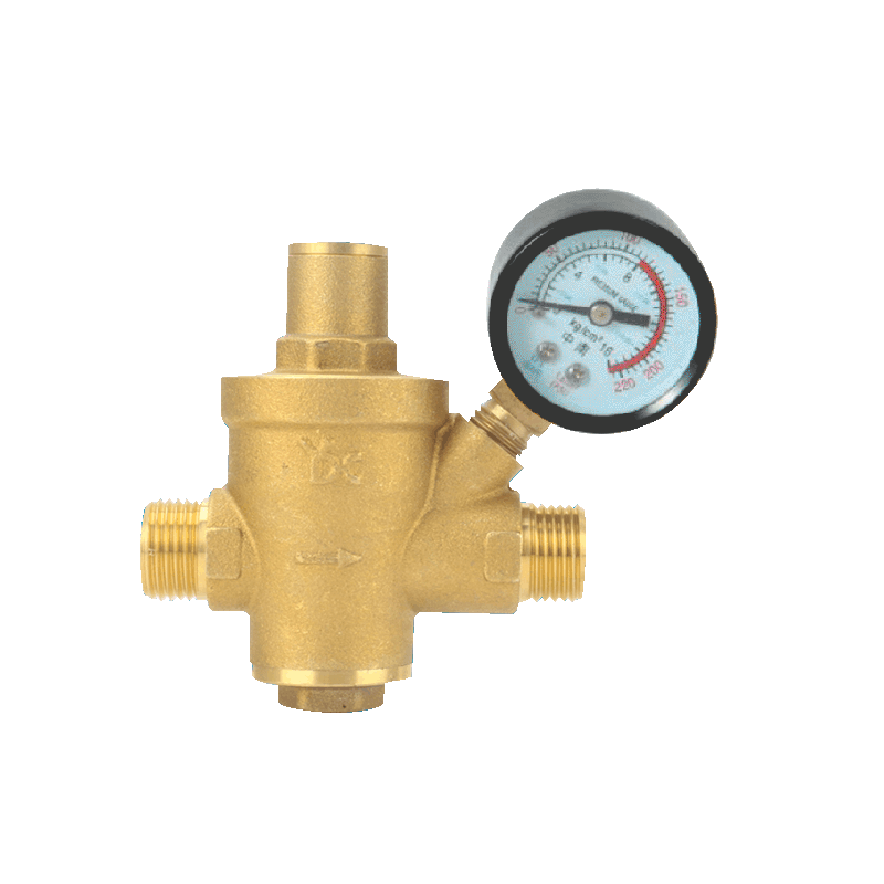 Brass Water Pressure Regulator Valves Witht  Pressure Gauge Pressure Maintaining Valve Water Pressure Reducing Valve DN15-DN40 original adidas new arrival official adidas originals men s full length pants sportswear for men