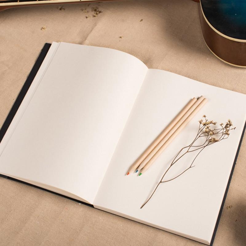 EZONE Black Card Sketch Book Sketchbook Art Marker Sketch Book Voor - Notitieblokken en schrijfblokken bedrukken - Foto 4