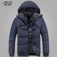 New Brand Clothing Winter Jacket Men Casual Parka Jacket Thick Men Hooded Warm Men S Coats