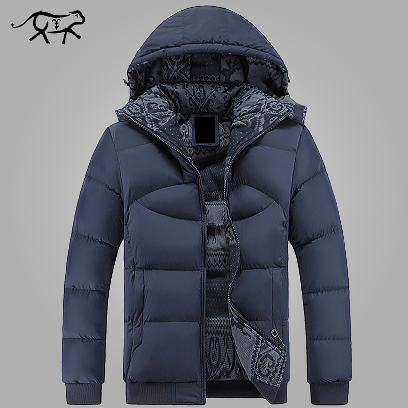 цены  New Brand Clothing Winter Jacket Men Casual Parka Jacket Thick Men Hooded Warm Men's Coats and Jackets Fashion overcoats Hommer