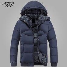 Новая брендовая одежда зимняя куртка Для мужчин Повседневное парка куртка Толстая Для мужчин с капюшоном Теплый Для Мужчин's Пальто и пуховики и Куртки модные пальто hommer