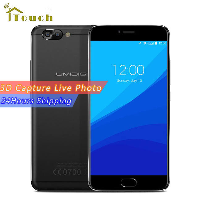 "Umi Umidigi Z Pro Auto Focus 3D Capture Dual Rear Camera Mobile Phone 5.5"" MTK Helio X27 Deca core 4G RAM 32GB ROM Smartphone"