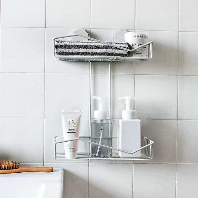 Mutlifunction Household Iron Shelf Kithcen Bathroom Sundries Hanging Storage Holders Rack Home Storage Organization Hanger