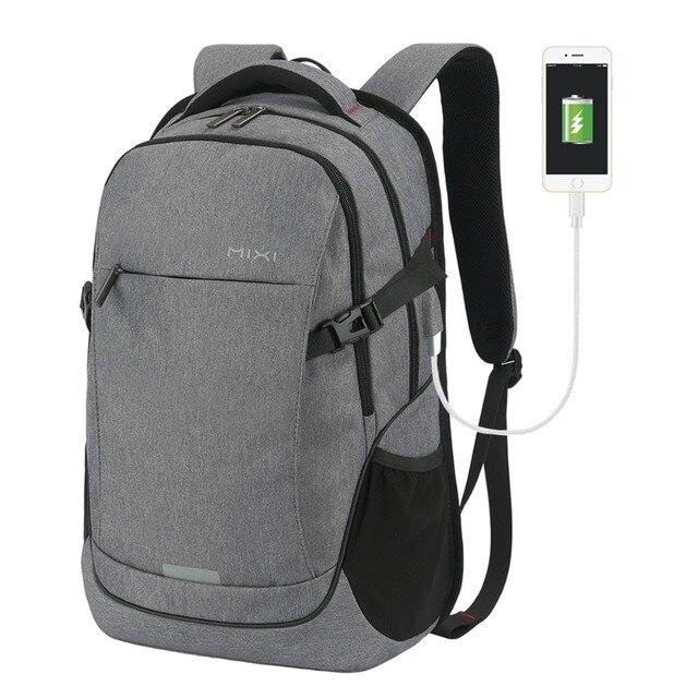 9249fcf3775c Mixi Men Laptop Backpack Patent Design Fashion Women Travel Backpack Bag  Teenager Boy Girl Satchel School