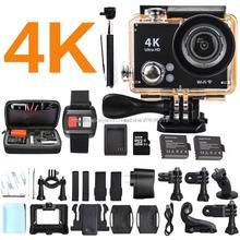 Original EKEN Ultra yi 4 K 25FPS 4 K sj WIFI 7000 cámara de 12MP kamera sj cámara go pro 4 hero h9 xiao mi dvr cámara de acción deporte cámaras