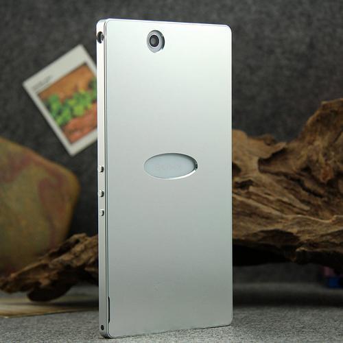 imágenes para Tornillo-menos el Diseño de alta Calidad de lujo Ultra delgada de Aluminio Caso Mate para Sony Xperia Z Ultra XL39h Xperia ZU Metal Teléfono cubierta