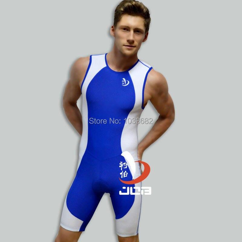 Job one piece men professional athletic swimwear Ironman ...