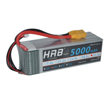 HRB RC Lipo 6S Battery 22.2V 5000mAh 50C Max100C For Yak 54 Align 7.2 800E RC Car Quadcopter Helicopter Multicopter Drone