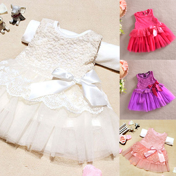 Aliexpress.com : Buy Baby Girls One Piece Formal Dress NEW 2016 ...