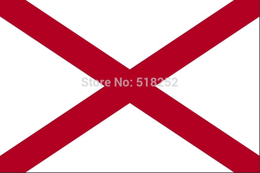 флаги 3x5 алабама