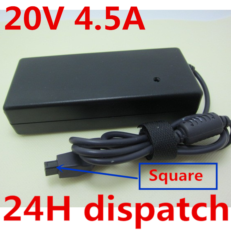 HSW 20V 4 5A AC Power Adapter Laptop Charger For Dell Inspiron 1100 2500 2600 2650 3700 3800 4000 4100 4150 5000 5000e 7500 8000 in Laptop Adapter from Computer Office