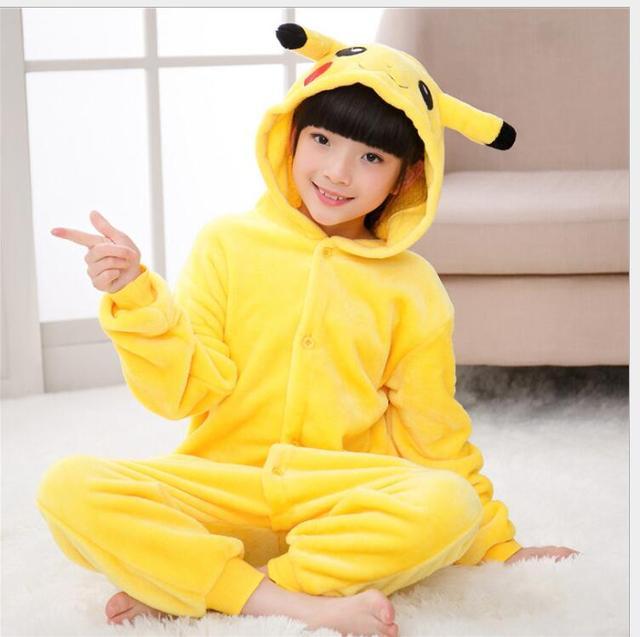 39622c342836 Προϊόν - Kigurumi Pikachu Onesie Kids Pokemon Cosplay Costume Lovely ...