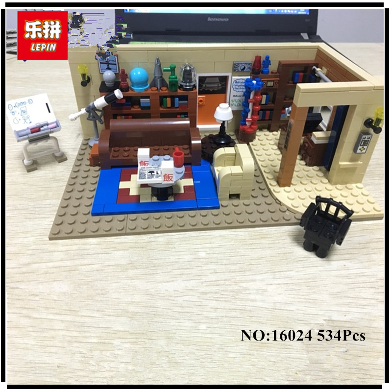 IN STOCK Lepin 16024 534Pcs IDEAS Series The Big Bang Set Educational Building Blocks Bricks Compatible Children Toys Gift 21302