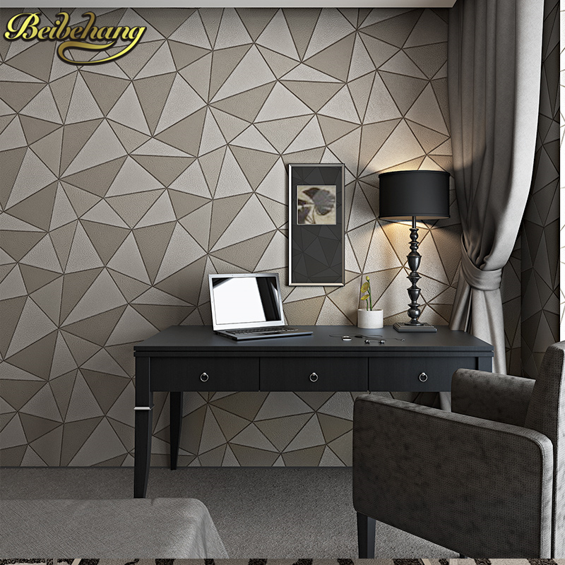 где купить beibehang pattern deep embossed papel de parede 3d flooring wallpaper rolls Papel de parede murals wall paper roll contact paper по лучшей цене