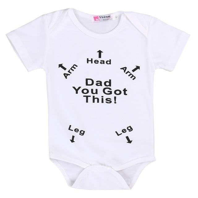 3e225b24ea16 Kids Baby Boy Girl Infant Summer Short Sleeve Romper Arrow Printed ...