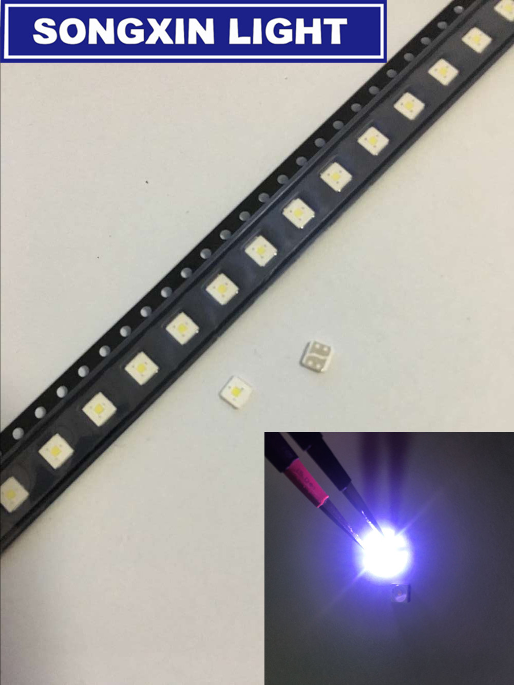 3//5mm LED Bulb Ultra Bright Water Clear LEDs 3V Colours Light Emitting Diode New