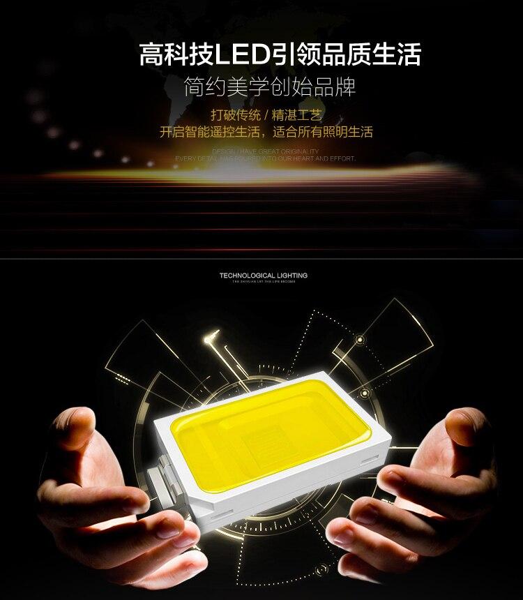 Светодиодный потолочный светильник с романтическим дизайном сердца K9, 110 220 В, для гостиной, спальни, размер: 80*60 см, бесплатная доставка, пото... - 6