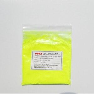 Image 1 - Satış kaliteli lemon sarı neon pigment tozları, floresan pigment, 1 grup = 200 gram HLP 8003 lemon sarı, ücretsiz kargo