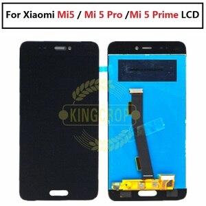 Image 2 - Xiaomi Mi5 LCD dokunmatik ekran çerçeve ile LCD ekran + dokunmatik Panel değiştirme için Xiaomi mi 5 Pro başbakan