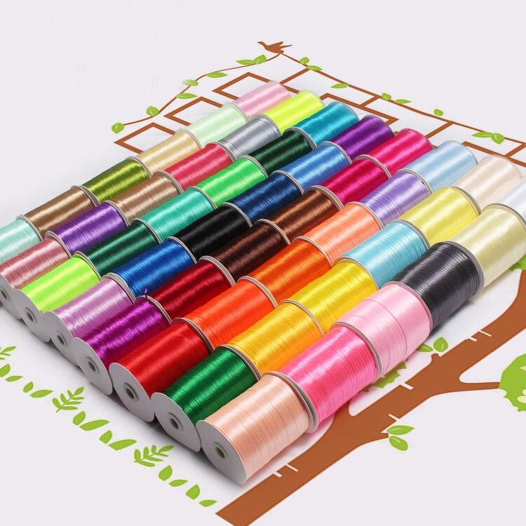 3 мм шелковые атласные ленты Рождество Хэллоуин Детский душ день рождения упаковка для свадебного подарка белый синий розовый зеленый фиолетовый ленты