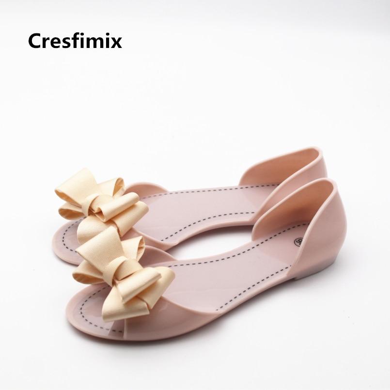Cresfimix sandales de mode pour femmes women fashion comfortable slip on sandals lady cute spring & summer sandals jelly sandals cresfimix women fashion spring