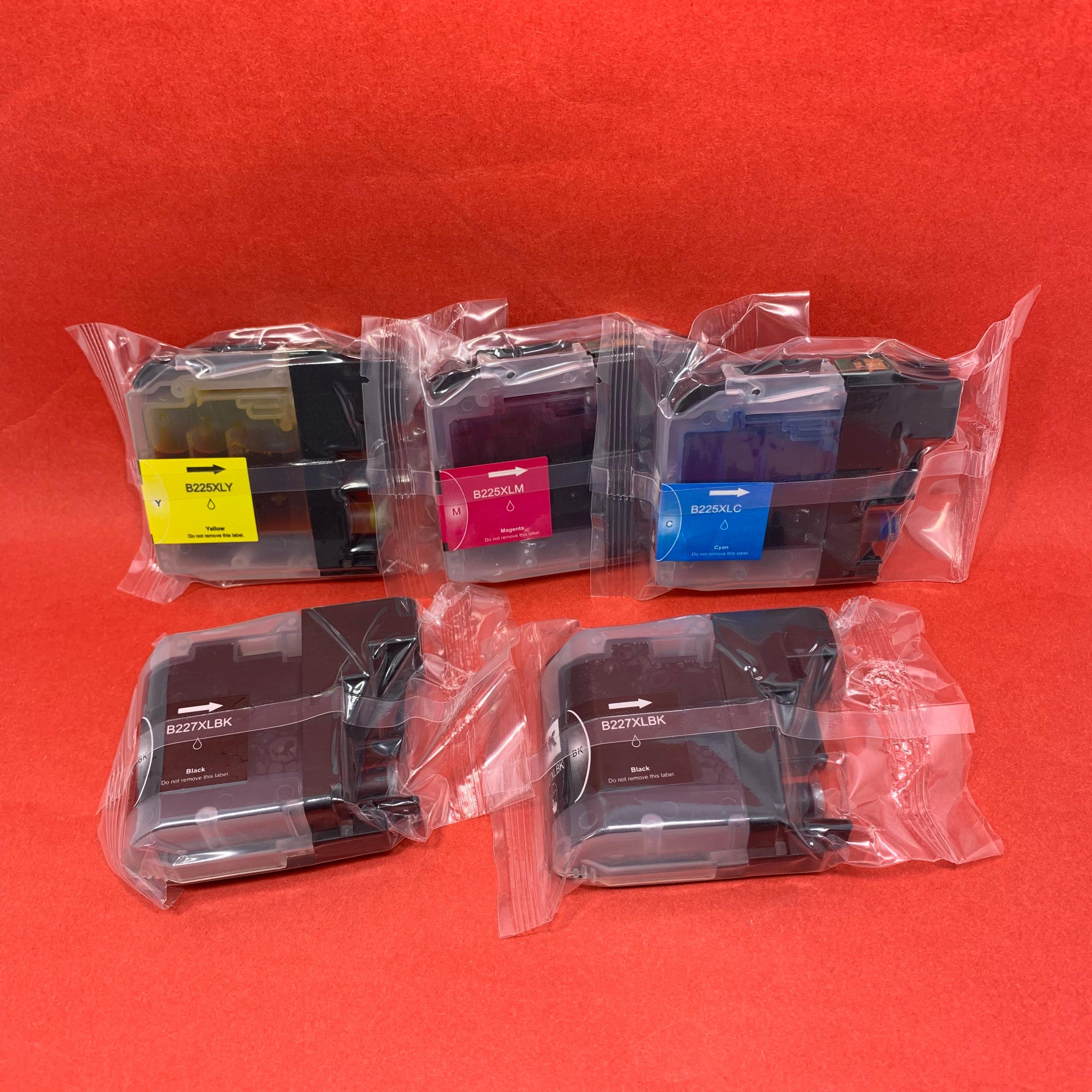 YOTAT 5 шт. совместимый LC227 LC225 чернильный картридж LC227XL для Brother DCP-J4120DW MFC-J4420DW MFC-J4620DW принтер