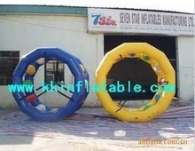 Commercial inflatable skate wheels water roller wheel toy for swimming pool