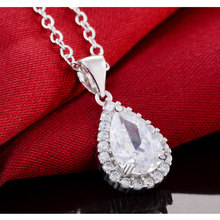 2020 new arrival 925 Sterling Silver four colors fashion Necklaces & Pendants wi