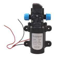 цена на 60W DC 12V 0.8 145psi High Pressure Water Pump Micro Electric Diaphragm Water Pump Automatic Switch