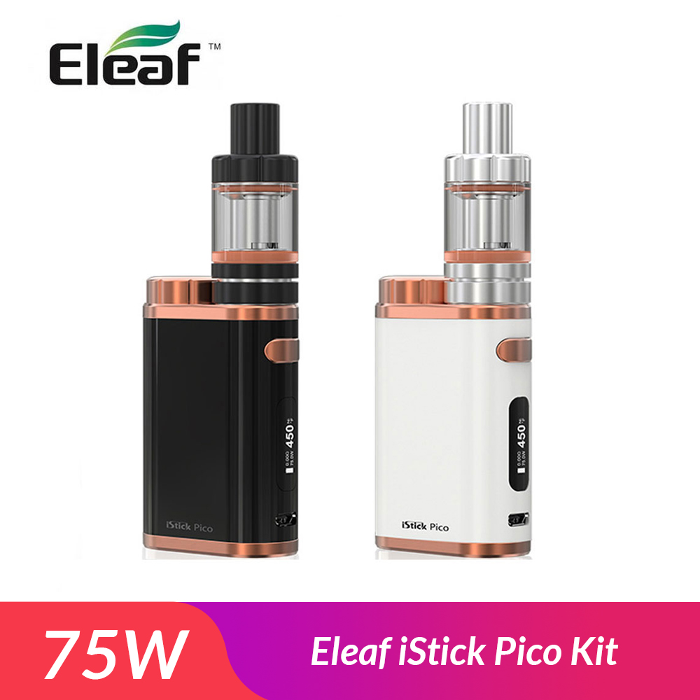 Original Eleaf istick pico kit 75W with Melo 3 Mini Tank 2ml EC 0 3ohm 0