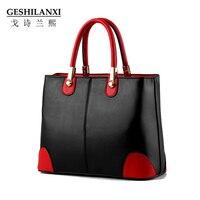 The New 2016 Women Bag Handbag Ms Han Edition Black White Fashion Female Bag Worn One