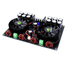 Alta Potência 420 W + 420 W Dual Channel Digital Placa Amplificador de Potência de Áudio Placa Amplificadora Fase Pura