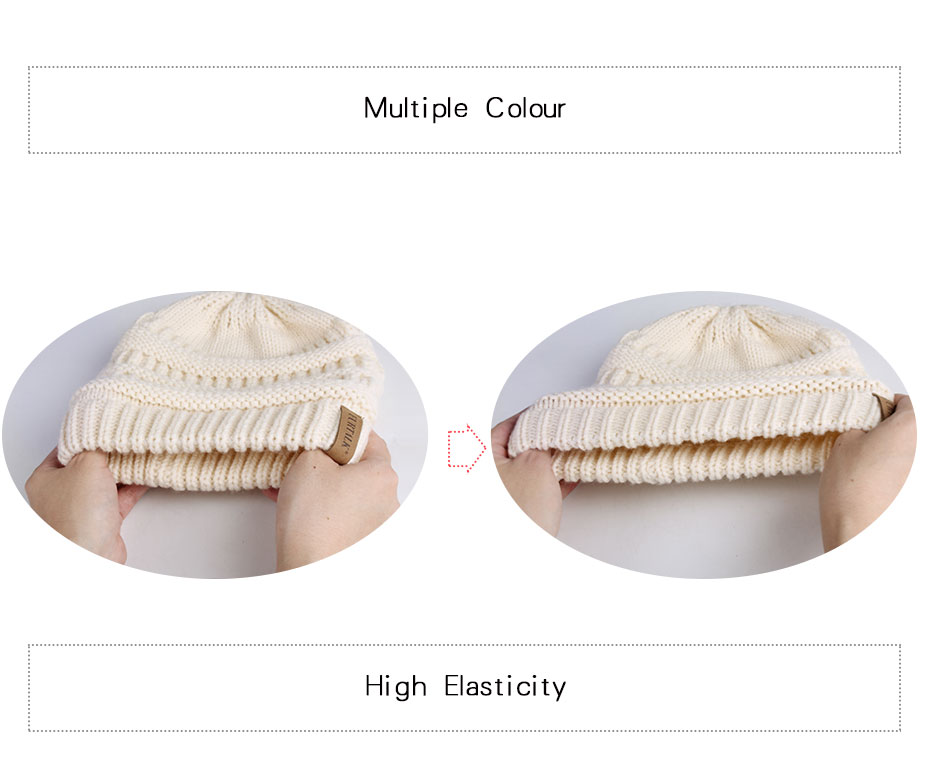FURTALK Slouchy Beanie Winter Hat for Women Knitted Warm Fleece Lining Hat for Female Skullies Beanies Red Yellow Black Grey Cap 22