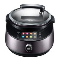 Fried Pot Smart Home Automatic Multi Cooker Cooking Machine IH Pot Lazy Person No Smoke Ceramic Stew Pot Slow Cooker