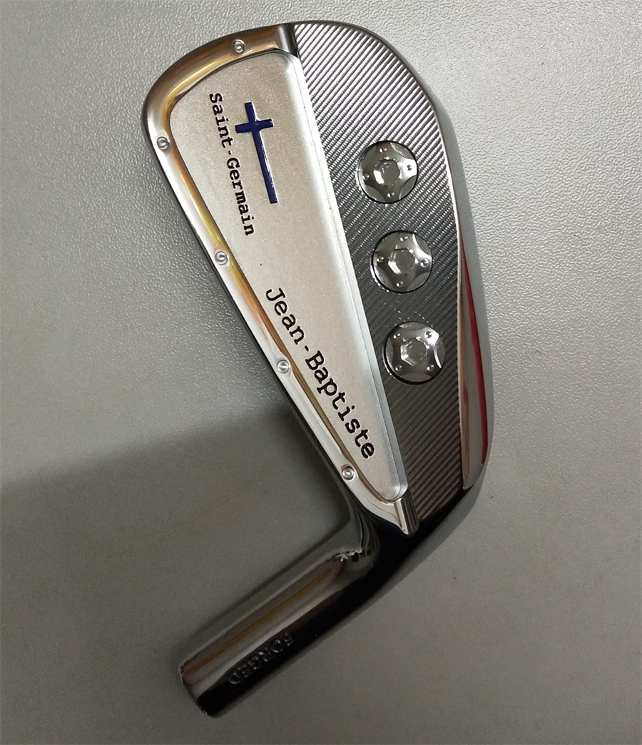 Playwell 2018 Jean Baptiste Saint Germain silver finished golf iron head forged carbon steel CNC iron wood iron цены