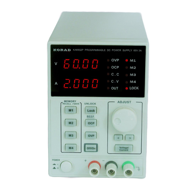 KA6002P Programmable Linear DC Power Supply with USB Cable