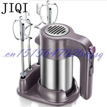 JIQI 220V Household Electric Hand Food Mixer Operated Mini Cream Mayonnaise Frother Mixer Maker Food Blender
