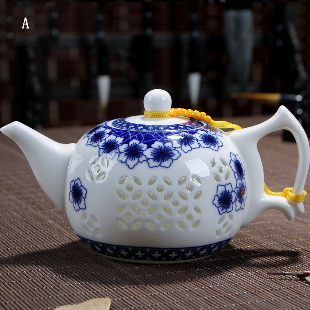 Drinkware Coffee Tea Sets Exquisite Ceramic Teapot Kettle Chinese Kung Fu Tea Set Cheap Ceramic Flower