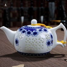 Drink Kaffee Tee-Sets, Exquisite Keramik Teekanne Wasserkocher, Chinesische Kung Fu Tee-Set, Billige Keramik Blume Tee topf, Porzellan Teegeschirr