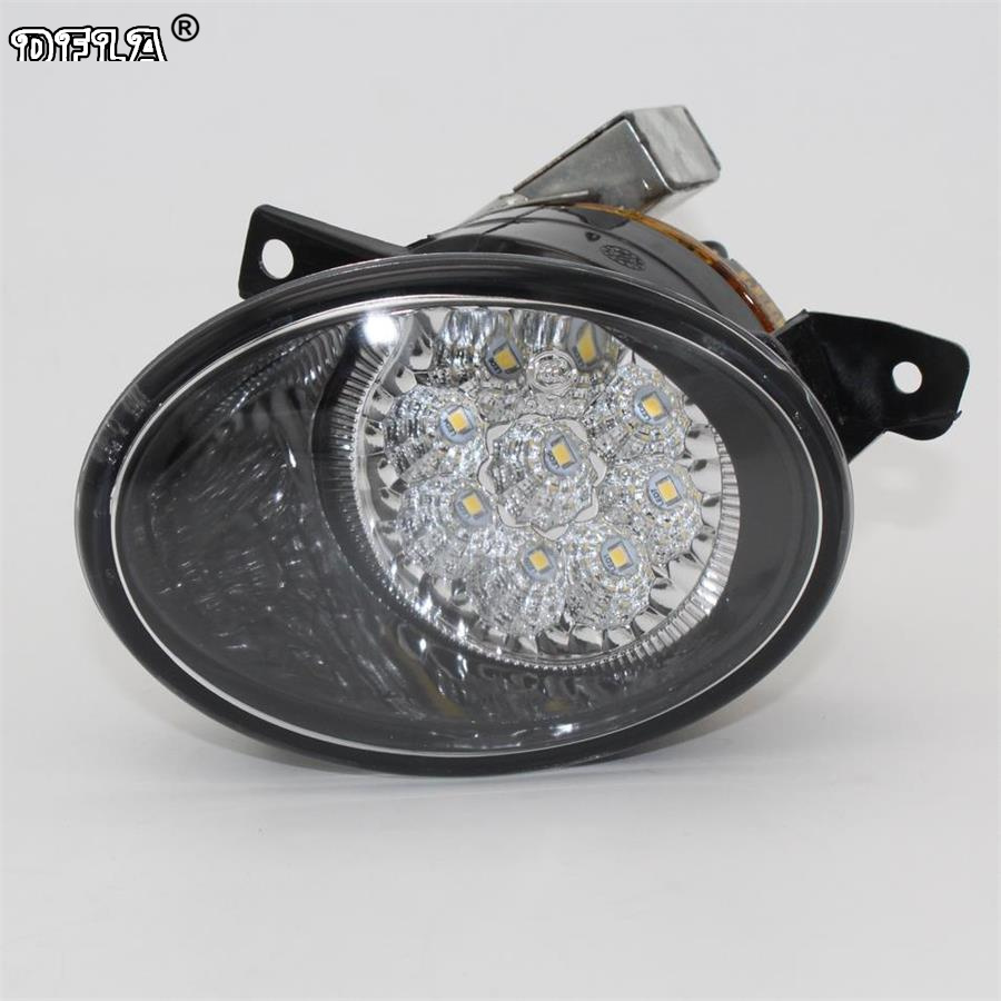 Right LED Light For VW Transporter Multivan Caravelle T5 T6 2010 2011 2012 2013 2014 2015 Car-Styling 9 LED Fog Light Fog Lamp