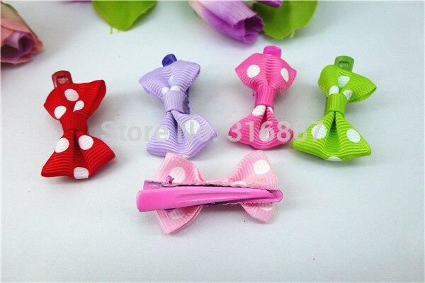 24 шт., модные милые банты из бутика для девочек, аксессуары для волос, бантик из тесьмы для волос, HD141231-6