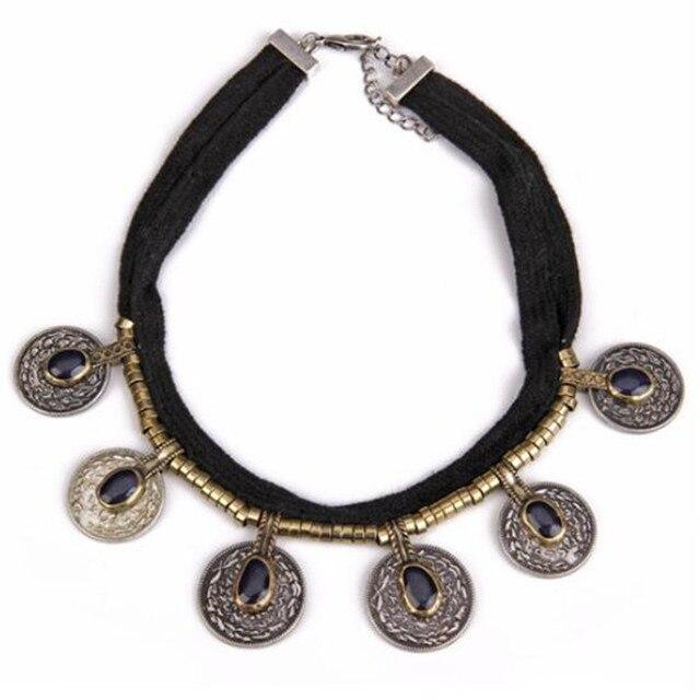 الجناح يوك تاك بيع النساء حبل سلسلة العصرية كولير collares قلادة تصميم جديد المخملية جولة بيان قلادات الأزياء والمجوهرات