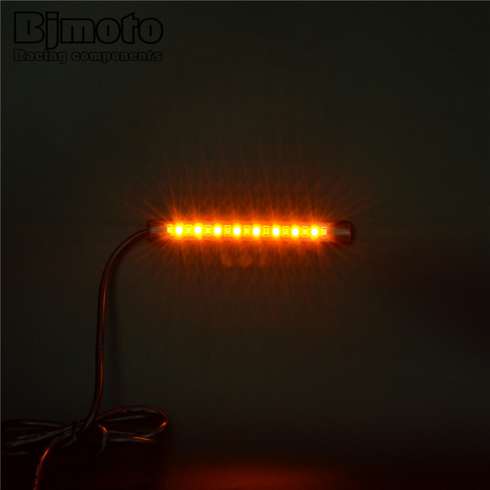 Bjmoto universal led car motorcycle tail brake lights turn signal light strip 17 leds license plate light flashing stop lights on aliexpress bjmoto universal led car motorcycle tail brake lights turn signal light strip 17 leds license plate light flashing Gallery