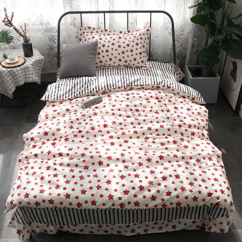 Quality Bedding Sets 3pcs Geometric Pattern Bed Linings Duvet Cover Bed Sheet Pillowcases Cover Set comforter bedding sets camaQuality Bedding Sets 3pcs Geometric Pattern Bed Linings Duvet Cover Bed Sheet Pillowcases Cover Set comforter bedding sets cama