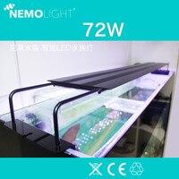 110 240V Nemolight intelligent program control LED 72W aquarium lamp water lamp Coral lamp Suitable for 1200 1400MM fish tank