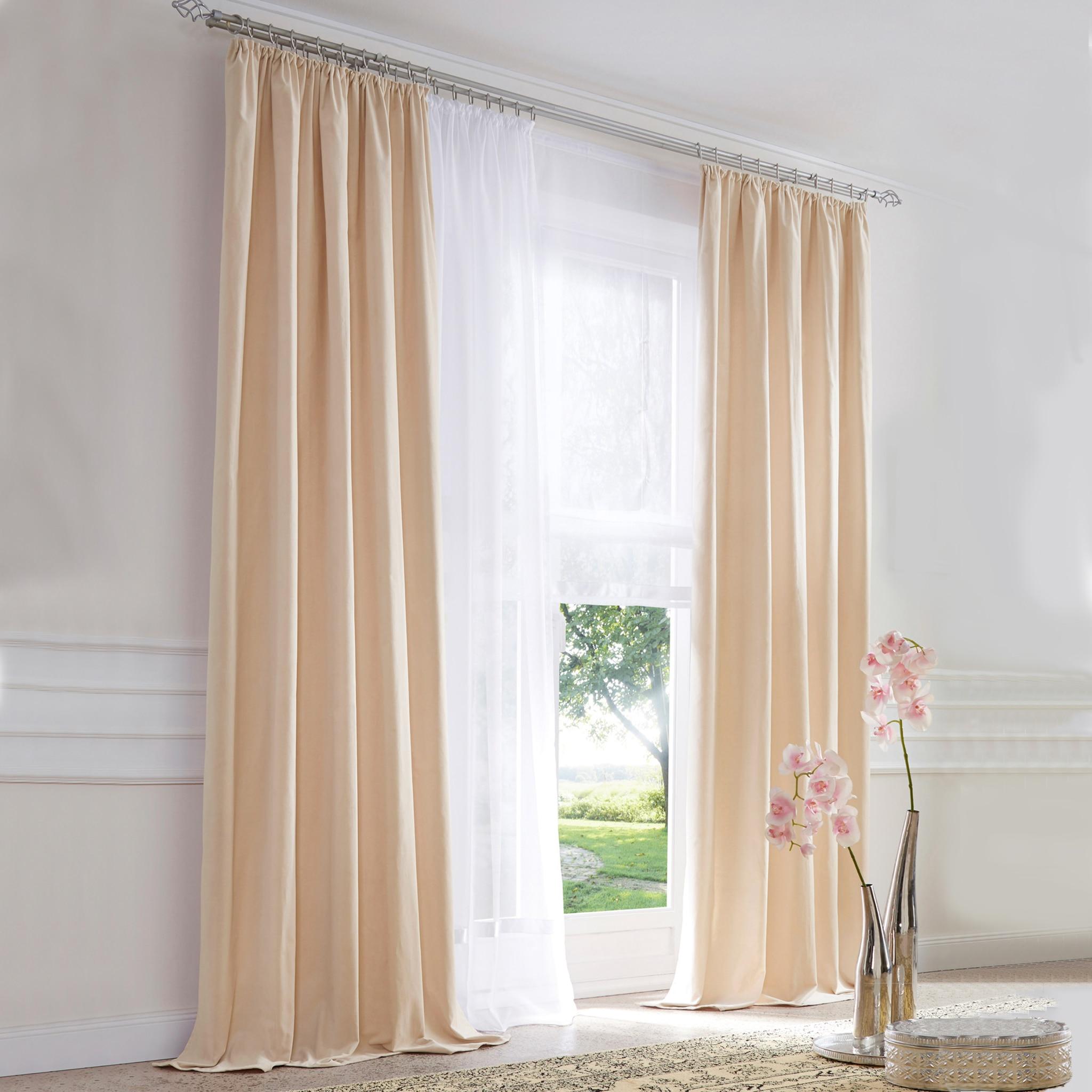 Vorhang Schallabsorbierend eleganz fenster vorhang blackout jalousien panel polyester gewebt